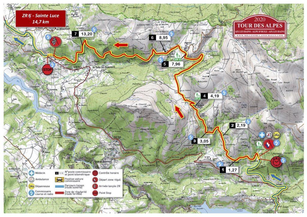 Tour des Alpes 2020