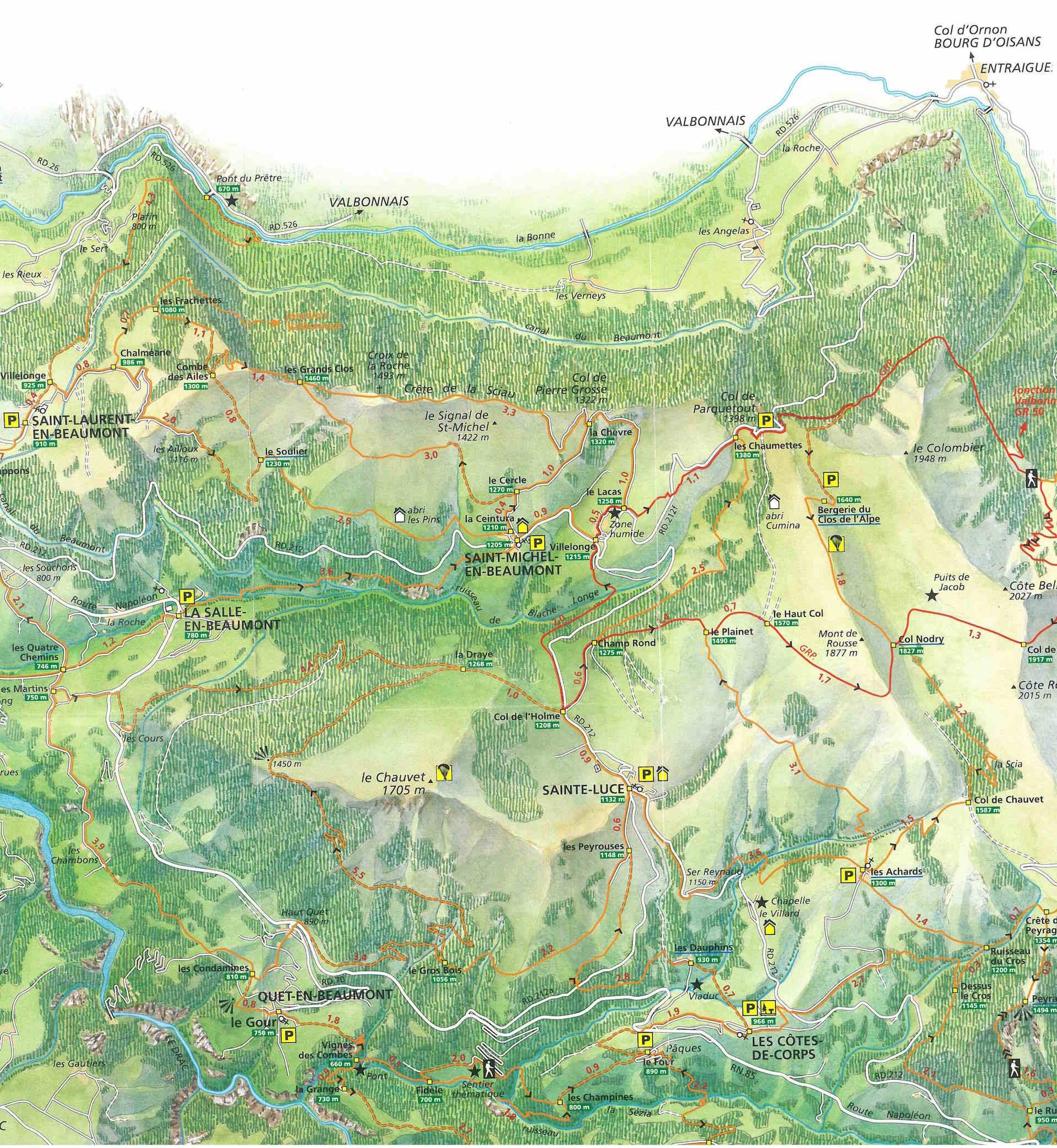 Le Tour du Chauvet (Boucle) – Belle balade pour découvrir le Beaumont